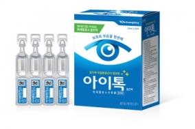 심각한 미세먼지 속 눈 건강 지킴이 '아이톡점안액'