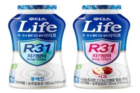 일동후디스, 위장과 건강 방어력 위한 발효유 '라이프' 출시