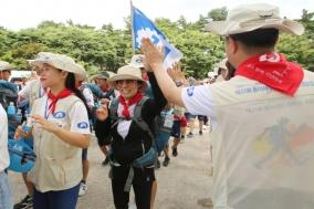 동아제약, 대학생 국토대장정 '부모님과의 만남' 행사 개최