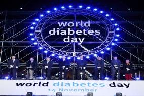 한국베링거인겔하임-한국릴리, 세계 당뇨병의 날 기념 '푸른빛 점등식' 성료