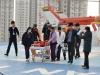 베스티안 병원, 의료진 동승 헬기 화상환자 이송 훈련