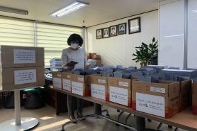 간무협, 대구‧경북 간호조무사에게 KF-94 마스크 5000장 전달
