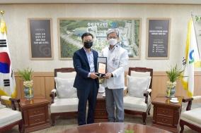 태운건설기계공업 최태운 대표, 충북대병원에 5000만원 기부