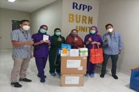 시지바이오, 인도네시아 화상 환자 치료 위한 구호물품 후원