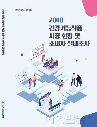 '2018 건강기능식품 시장 현황 및 소비자 실태조사' 보고서 표지.jpg
