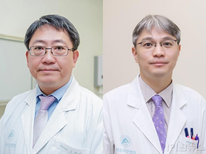 (왼쪽부터) 서울아산병원 내분비내과 고정민, 이승훈 교수.jpg