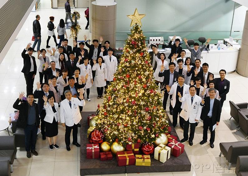 강남세브란스, 크리스마스 트리 점등식.jpg