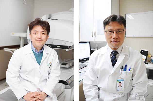 정용안 교수(왼쪽)와 송인욱 교수.jpg